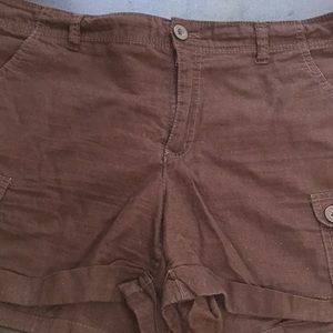 Faded Glory Brown Shorts